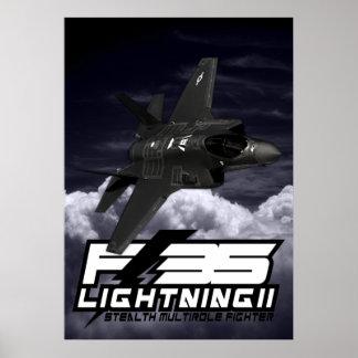 F-35 relámpago II Impresiones