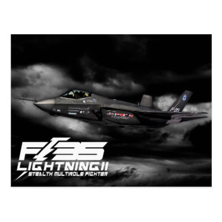 F-35 relámpago II Tarjetas Postales