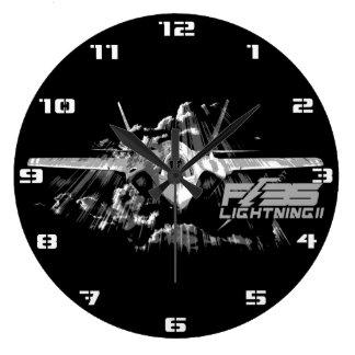 F-35 reloj del relámpago II