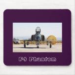 F-4 fantasma con el paracaídas freno, fantasma F4 Tapete De Raton