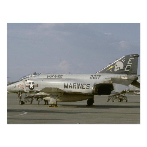 F-4 fantasma Ii Tarjeta Postal