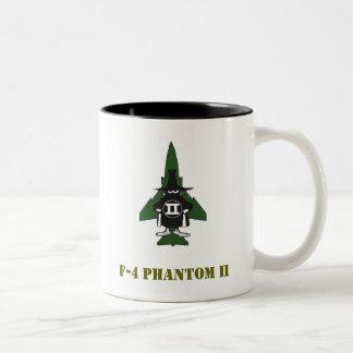F-4 fantasma II Tazas De Café