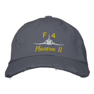 F-4 Golf Hat Embroidered Baseball Cap