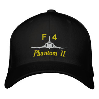 F-4 Golf Hat Embroidered Hats