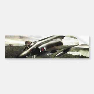 F-4 Phantom Fighter Jet Bumper Sticker