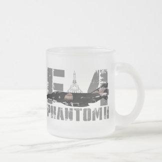 F-4 Phantom II Frosted Glass Coffee Mug