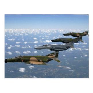 F-4 Phantom II Heritage Flight Postcard