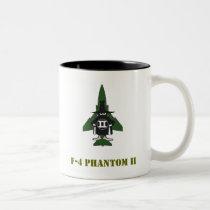 F-4 Phantom II Two-Tone Coffee Mug