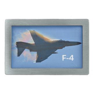 F-4 PHANTOM jet Rectangular Belt Buckle
