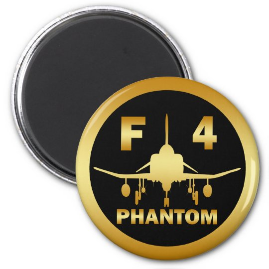 F-4 PHANTOM JET MAGNET