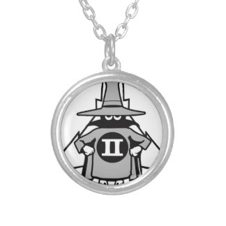 F-4 Phantom Spook Silver Plated Necklace