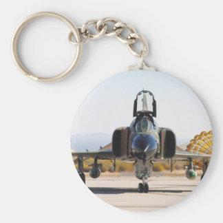 F-4 Phantom with Drag Chute Keychain