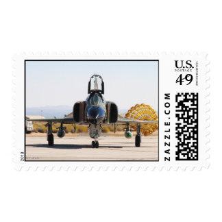 F-4 Phantom with Drag Chute Postage Stamp