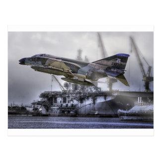 F-4C Phantom Postcard