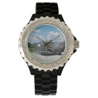 F 4F Phantom German Air Force retro painting Wrist Watch