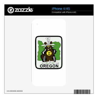 F-4ii Oregon iPhone 4S Calcomanía