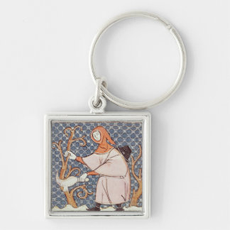 F.58v March: Pruning trees Keychain