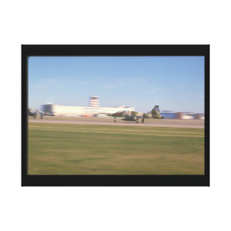 F-5 Freedom Fighter take_Military Aircraft Canvas Print