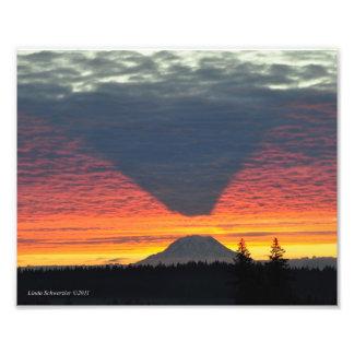 f #6 el Monte Rainier y su sombra Fotografías