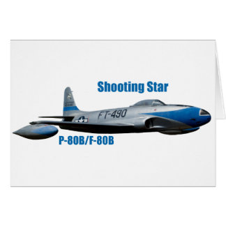 F-80B  Shooting Star Card