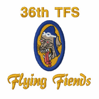 F-86 Flying Fiends Embroidered Polo Shirt