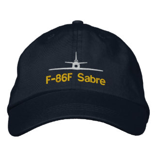 F-86 Golf Hat Embroidered Hat
