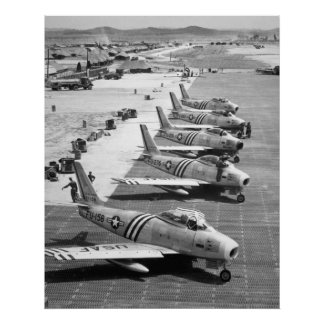 F-86 SABRE POSTERS