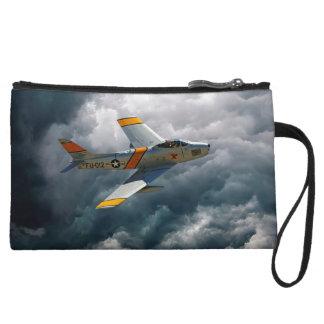 F-86 Sabre Wristlet Wallet