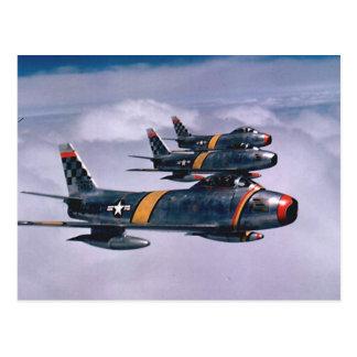 F-86 Sabres Postcard
