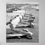 F-86 Sabres Print