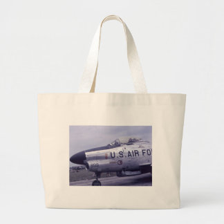 F-86D SABRE JET LARGE TOTE BAG