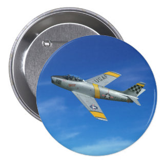 "F-86F ""Beautious Butch"" Button"