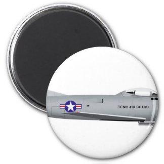 F-86L norteamericano SABRE Imán Redondo 5 Cm