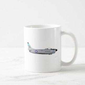 F-86L norteamericano SABRE Taza De Café