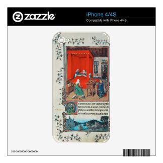 f.93v el nacimiento de San Juan Bautista y del Bap Skin Para El iPhone 4S
