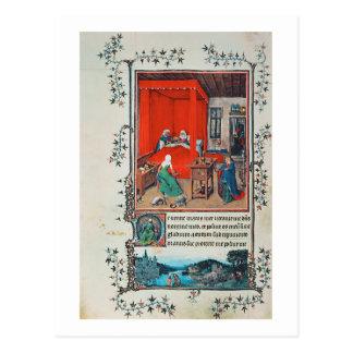 f.93v el nacimiento de San Juan Bautista y del Tarjeta Postal