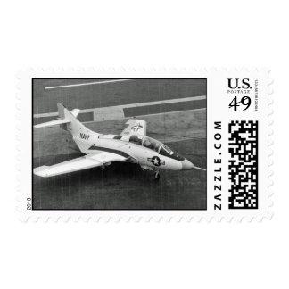 F-9 Cougar Postage Stamp