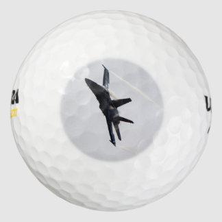 F/A-18, diseño de la foto de la acción de los Pack De Pelotas De Golf