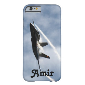 F/A-18 Fighter Jet Plane Air Show for Amir Barely There iPhone 6 Case