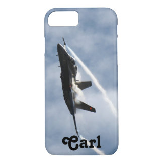 F/A-18 Fighter Jet Plane Air Show for Carl iPhone 8/7 Case