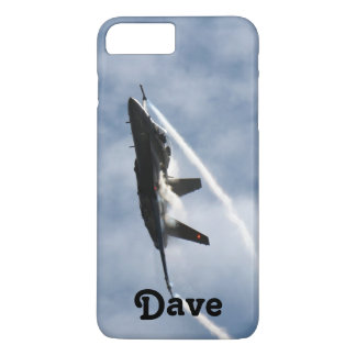F/A-18 Fighter Jet Plane Air Show for Dave iPhone 8 Plus/7 Plus Case