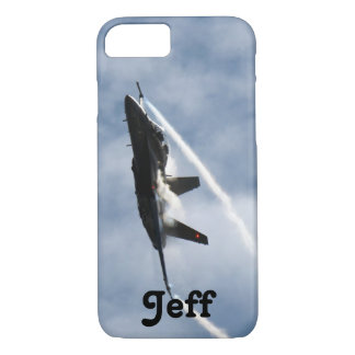 F/A-18 Fighter Jet Plane Air Show for Jeff iPhone 8/7 Case