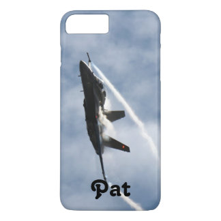 F/A-18 Fighter Jet Plane Air Show for Pat iPhone 8 Plus/7 Plus Case
