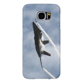 F/A-18 Fighter Jet Plane Air Show Stunt Samsung Galaxy S6 Case