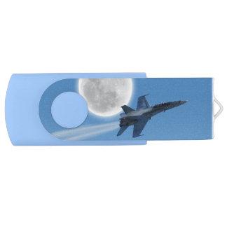 F/A-18 Fighter Jet Plane Swivel USB 2.0 Flash Drive
