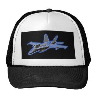 F/A-18 Hornet Blue Fighter Jet Trucker Hat