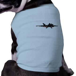 F/A-18 Hornet  FighterJet Medium Dog Shirt