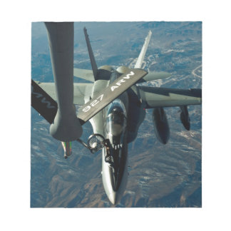 F/A 18 refuelling Notepad