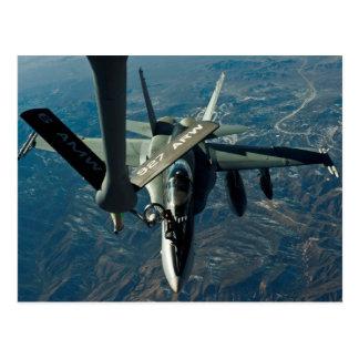F/A 18 refuelling Postcard