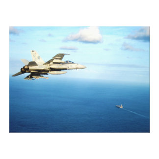 F/A-18A Hornet Strike Fighter Squadron 87 Canvas Prints